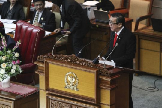 Revisi UU Anti-Terorisme disahkan DPR