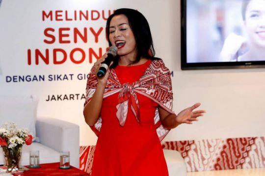 Dewi Lestari buat kesan dokter gigi menyenangkan untuk anak