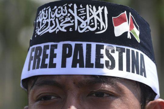 Aksi solidaritas Palestina