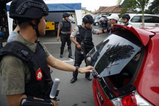 Pengamanan Polresta Bandar Lampung