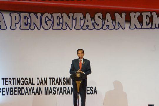 Presiden hadiri peresmian rakornas Pembinaan Penyelenggaraan Pemerintahan Desa