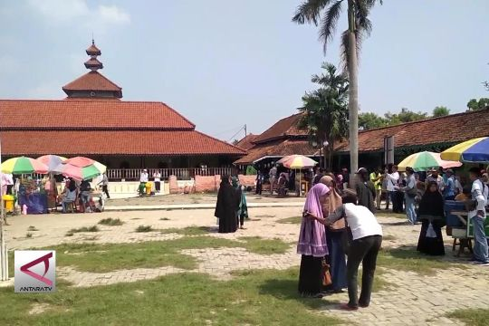 Jelang Ramadan, Banten Lama mulai dipadati peziarah