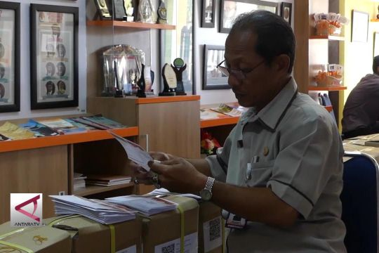 KPU Solo lakukan uji coba kardus surat suara ber-barcode