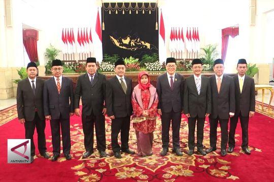Presiden lantik 9 anggota KPPU
