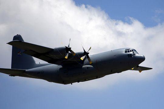 Hercules jatuh di AS tewaskan sembilan orang