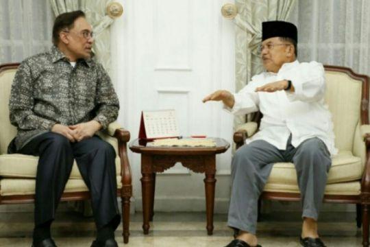 Wapres terima Anwar Ibrahim Minggu malam