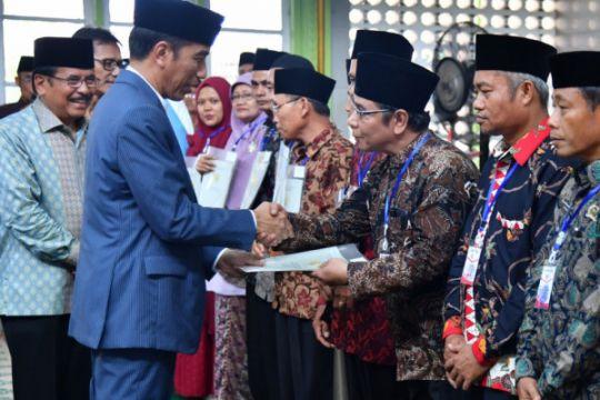 Presiden Jokowi instruksikan percepatan penyelesaian sertifikat tanah