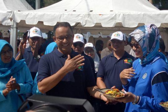 Warga Kepulauan Seribu rayakan HUT Anies Baswedan