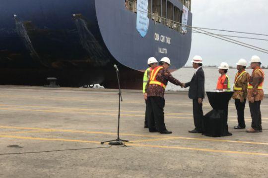 Presiden lepas ekspor Indonesia di Tanjung Priok