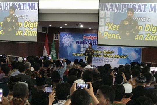 Presiden: tokoh Muhammadiyah sukses manfaatkan media sosial