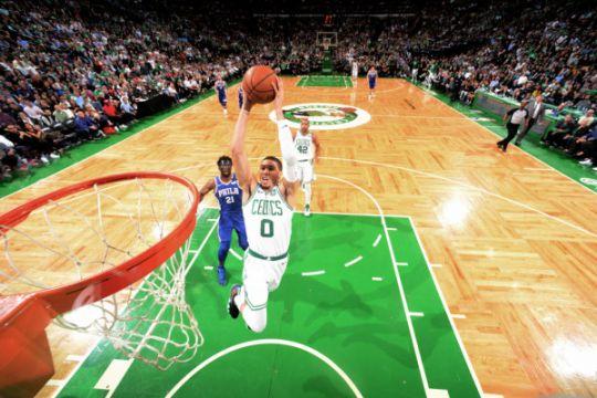 Singkirkan Sixers di gim kelima, Celtics ke final Wilayah Timur