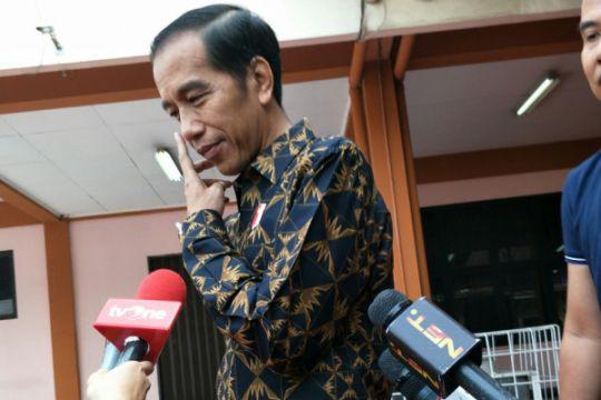 Presiden bagikan sertifikat warga Bekasi dan Jaktim