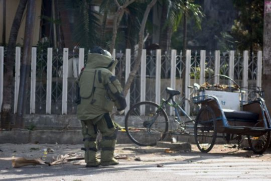 Polisi buru pelaku teror bom palsu di Pematangsiantar