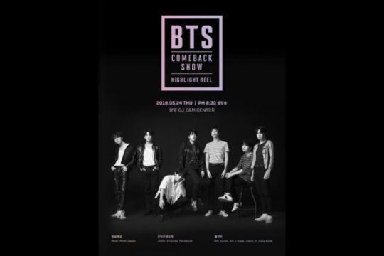 Live streaming BTS Comeback Show di sini