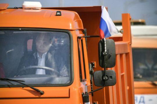 UE sebut Jembatan Crimea langgar kedaulatan Ukraina