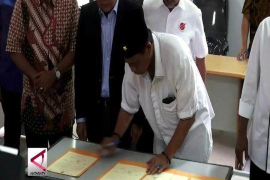 Empat kontestan Pilgub Jabar sepakat Pemilu Damai
