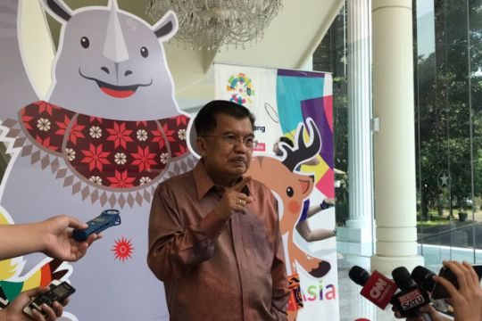 Wapres buka Parade Asian Games di Monas