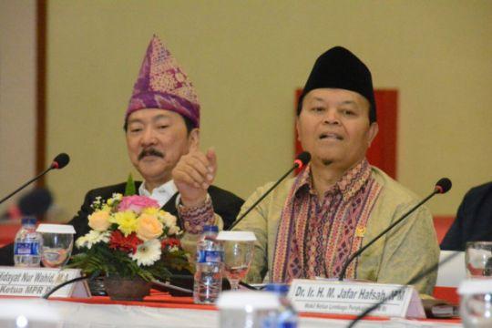 Pancasila harus dihadirkan untuk cegah terorisme, kata HNW