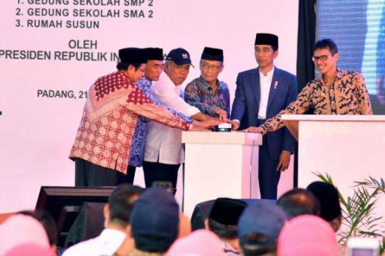 Presiden resmikan kawasan Pesantren Modern Hamka II