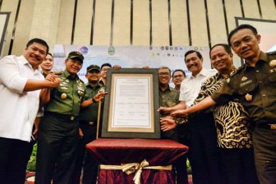 Audiensi dan Deklarasi pengendalian DAS Citarum