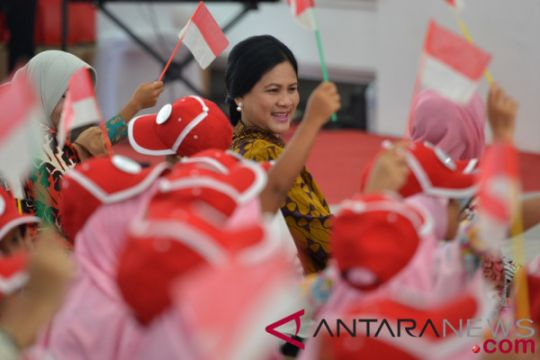 Ibu Negara undang 500 anak ke Istana Kepresidenan Yogyakarta
