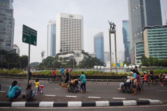 CFD Jakarta sepi