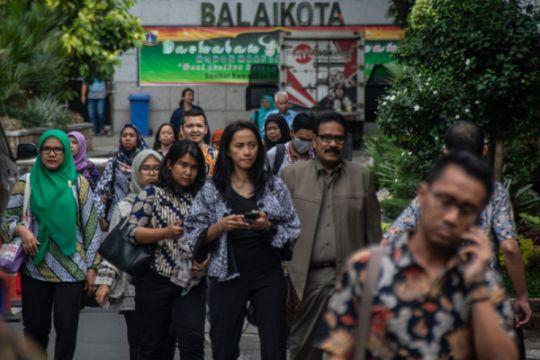 Jam pulang kerja PNS Jakarta