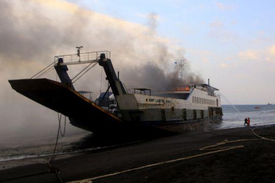 KNKT selidiki penyebab kebakaran KMP Labrita Adinda