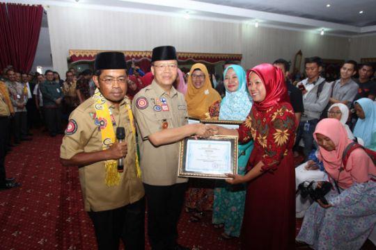Kunjungan Menteri Sosial di Bengkulu