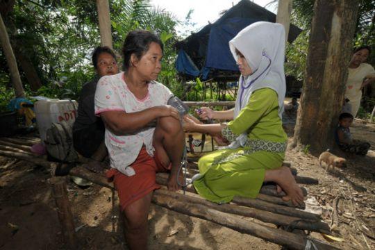Pemkab Batanghari Jambi imunisasi 42 anak orang rimba