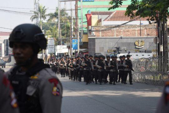 Pengamanan pasca kerusuhan Mako Brimob