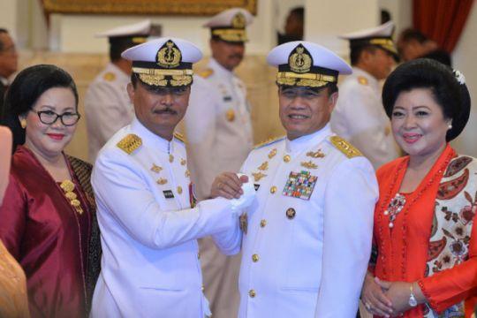 Panglima TNI pimpin serah terima jabatan KSAL