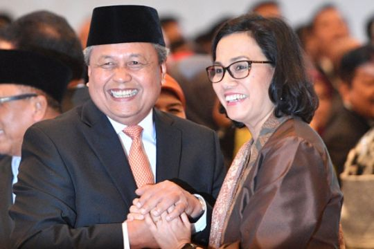 Sri Mulyani tunggu gebrakan gubernur baru Bank Indonesia