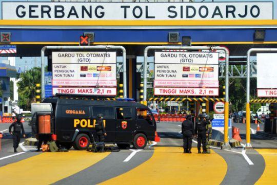Peledakan benda diduga bom di Sidoarjo