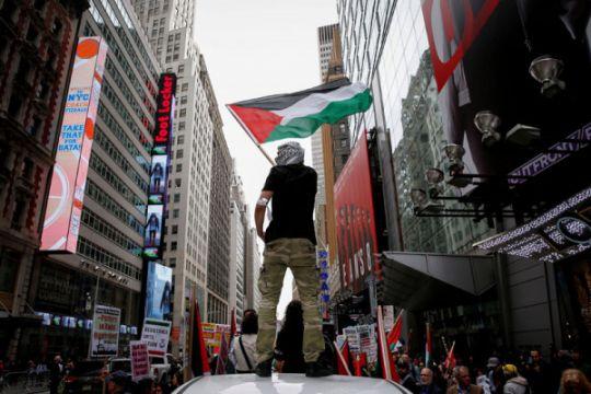Palestina sebut rancangan kesepakatan damai AS sebagai pemecah