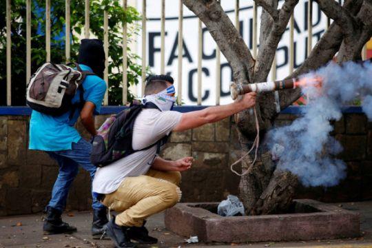 Polisi Nikaragua tuding pedemo antipemerintah rencanakan terorisme