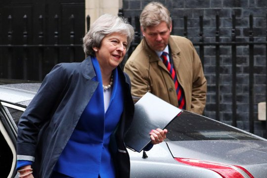 PM Inggris pimpin sidang kabinet setelah rancangan Brexit disepakati