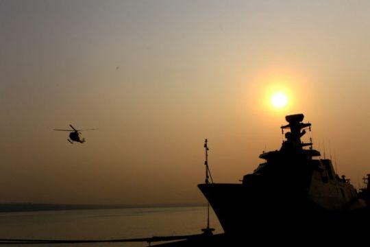 TNI AL siagakan empat kapal perang untuk pemudik Lebaran
