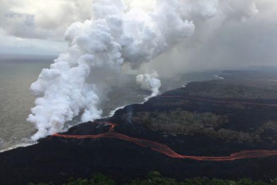 Kabut asap vulkanis Hawaii selimuti Kepulauan Marshall