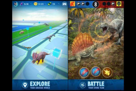 Tiru Pokemon GO, Jurassic World Alive hadirkan dinosaurus