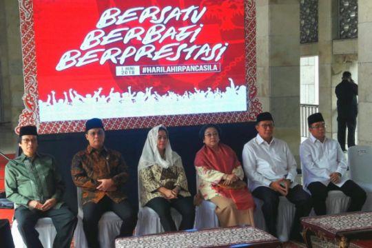 Dari Istiqlal, Megawati ajak tokoh agama semarakkan gotong royong