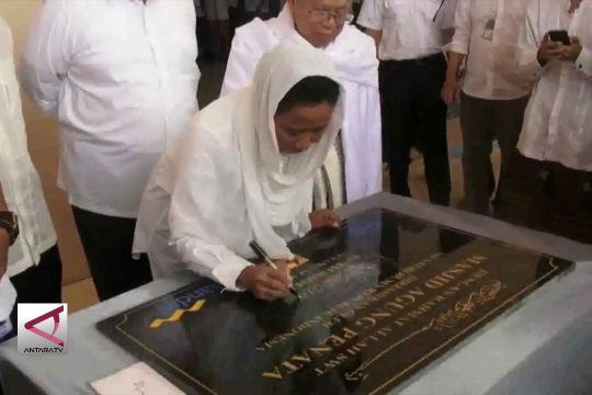 Menteri BUMN resmikan Masjid Penata Tanara