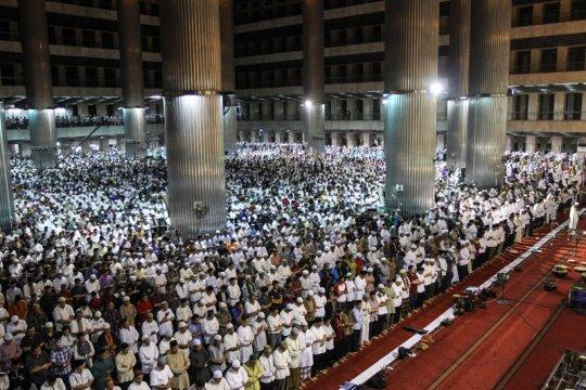 Khatib Masjid Istiqlal ajak umat Islam bersabar tunggu hasil Pemilu
