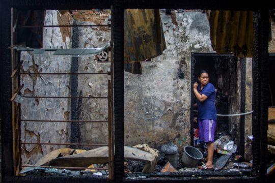 Balita korban kebakaran Bidara Cina alami trauma
