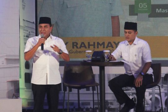 Pasangan Edy-Musa menangkan pemilihan Gubernur Sumut