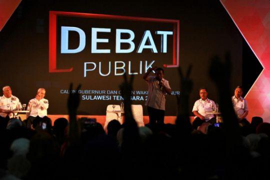 Debat Publik Cagub Sultra