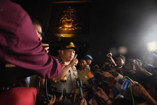 Kapolri akan ke Surabaya semangati polisi