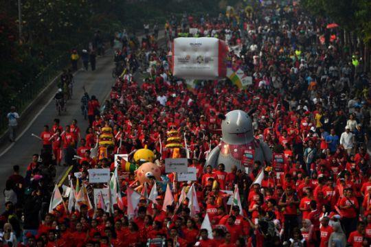 Pawai obor jadi penekanan promosi Asian Games