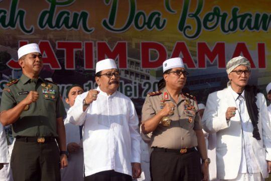 Kapolda minta warga dan ulama Jatim dukung pelaksanaan pilkada