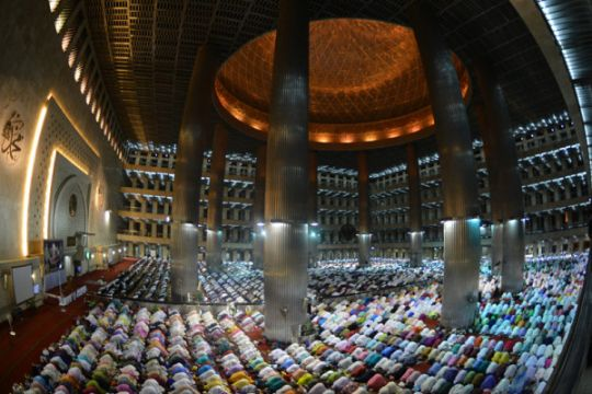 MUI apresiasi pemindahan tarawih Monas ke Istiqlal